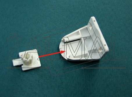 uzbrojenie uchwytu rolety mini