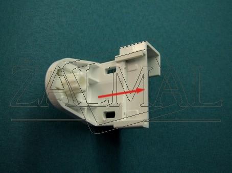 połączenie uchwytu rolety 20mm z wieszakiem